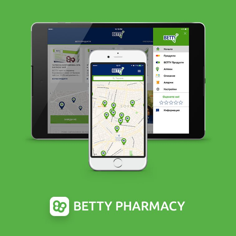betty pharmacy mobilno prilojenie